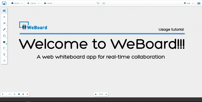 Welcome to WebBoard!
